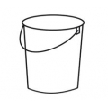 Plastic Bucket Without Lid