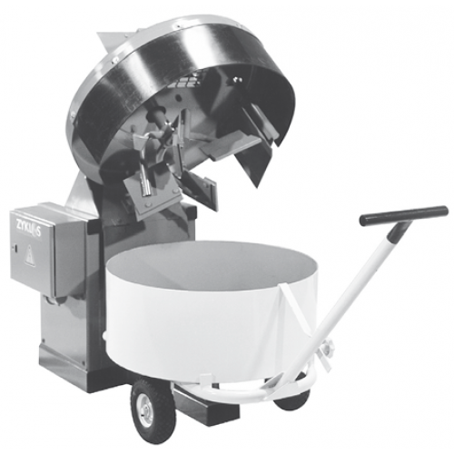 Portable Cement Mills : Pug mill mixer zz he