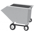 Dump Cart with Steering Roller