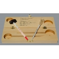 Vinometer and Wine Thermometer in Wooden Case