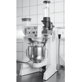 Mortar mixer 5L automatic with sand dispenser and water dosing system