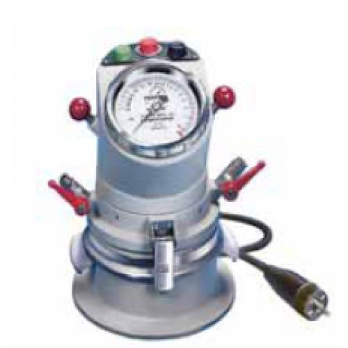 """Compressor Gas Cap : Air entrainment meter """"testing cap i c w electric"""