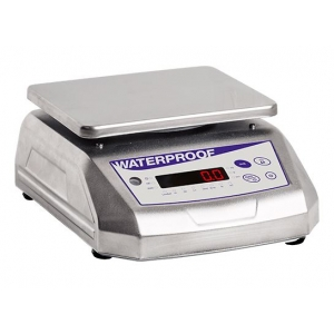BW 3000 WATERPROOF, digital balance double display