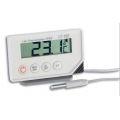 Splash Proof Thermometer with Alarm