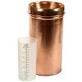 Copper Rain Gauge, 125mm opening