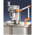 Mortar mixer 5l automatic with sand dispenser water dosing and dust exhaust systems